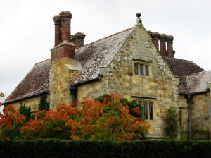 Rudyard Kipling's House in Sussex[Source: Flickr Creative Commons © florriebassingbourn]